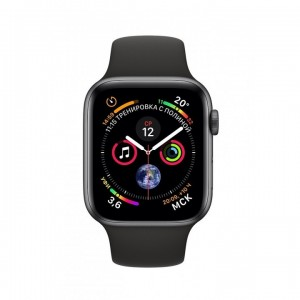 Apple Watch Series 4, 44mm Space Gray